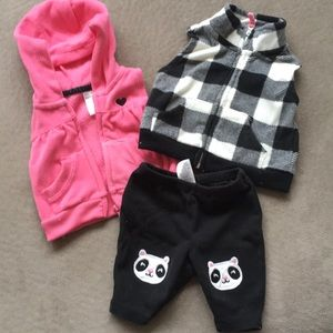 Other - NB vests and a pair of pants